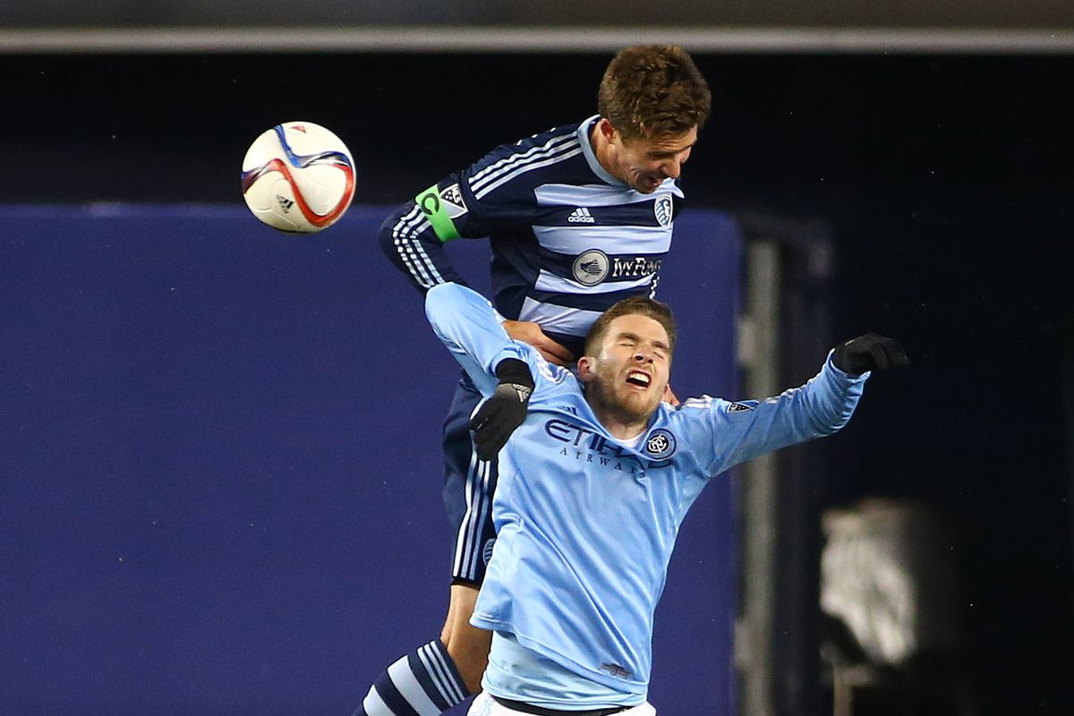 Matt Besler engages hawk mode and carries off an NYCFC rodent