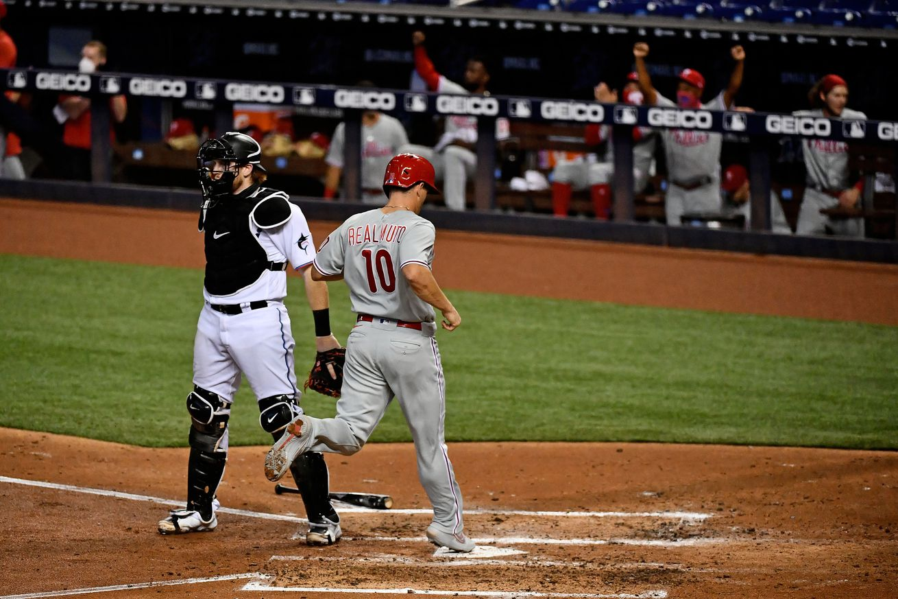 MLB: Game One-Philadelphia Phillies at Miami Marlins