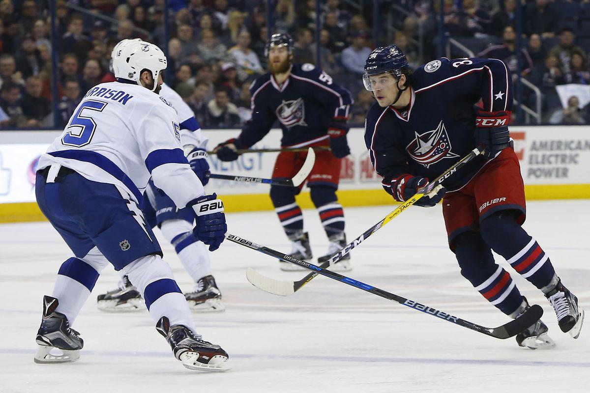 NHL: Tampa Bay Lightning at Columbus Blue Jackets
