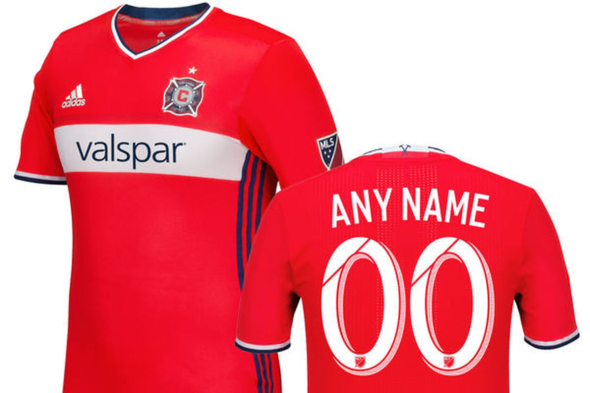 28648407e The Chicago Fire unveiled a new kit Monday and will host the official  launch party tonight SportsLogos.net