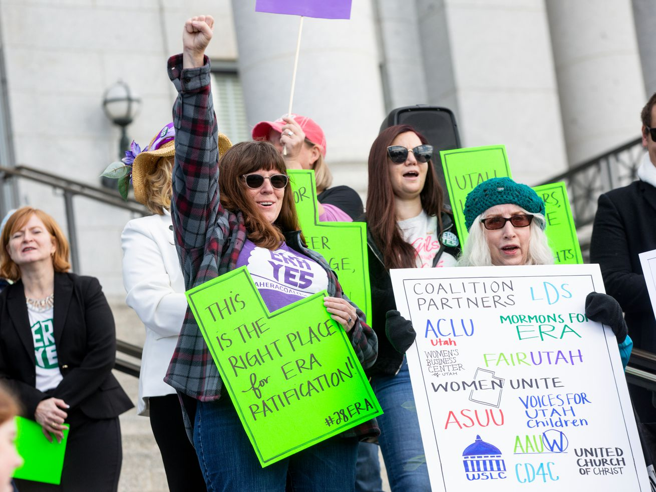 Utahns rally for Equal Rights Amendment and resolution that would push ratification