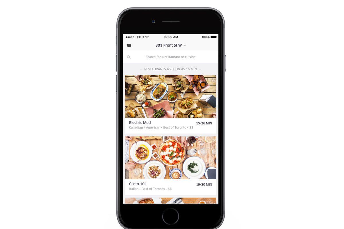 Uber Like Food Service