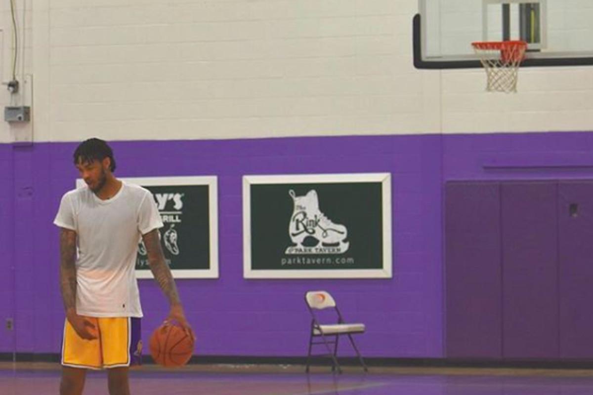 ebc240e05cb Lakers forward Brandon Ingram continues impressive offseason ...