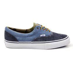 "<strong>Vans Vault</strong> Era LX Suede in Dress Blue/Copen Blue, <a href=""http://www.dqmnewyork.com/shop/shoes/vans-vault-era-lx-suede-dress-blue-copen-blue.html"">$85</a> at Vans DQM"
