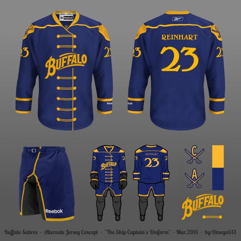 Design a New Sabres Third Jersey  Round 2 df18477dabb