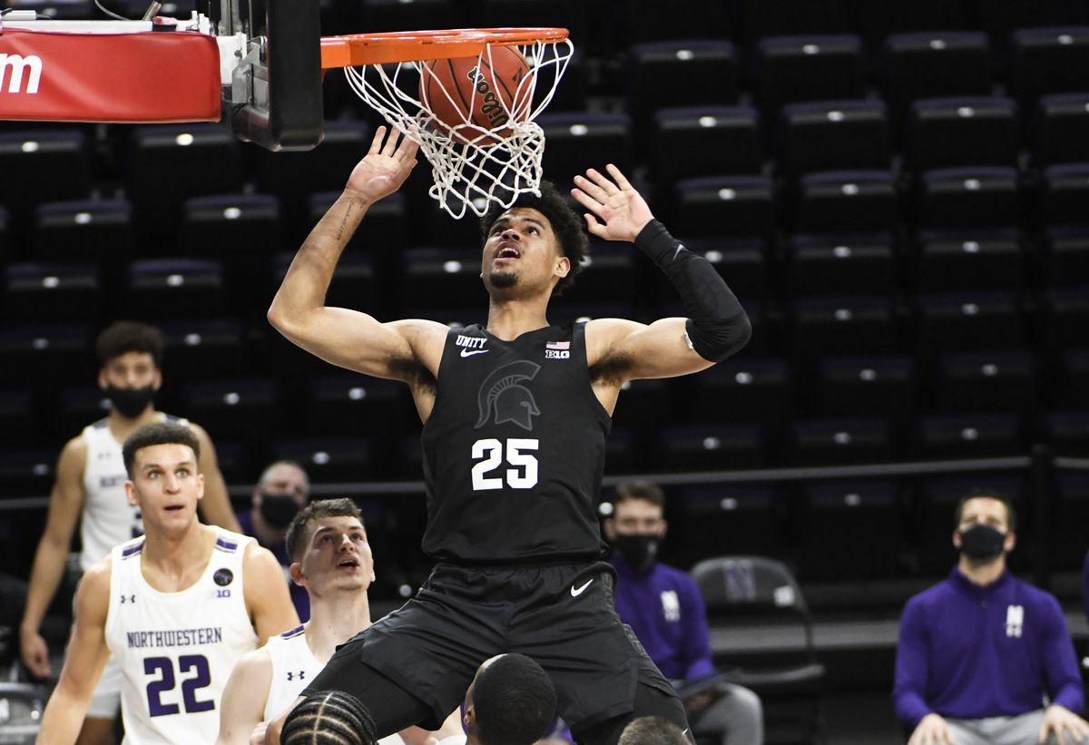 NCAA Basketball: Michigan State at Northwestern