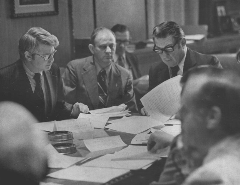 CETA discussion in Colorado, 1975