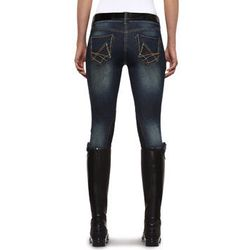 """Equestrian style is a perennial fashion staple so why not wear the <strong>Ariat</strong> Denim Breech, <a href=""""http://www.ariat.com/English/Women/Apparel/Breeches/DenimBreech.html?color=INDIGO"""">$110</a> at Tal y Tara Tea and Polo, to work and to ride."""