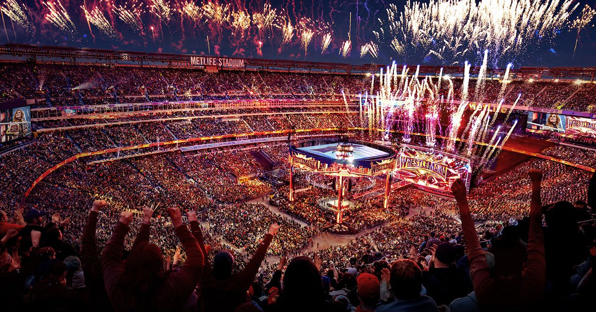 Wwe Touts How Much Money Wrestlemania 35 Made For Ny  Nj