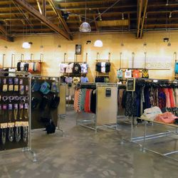 The women's section offers a massive selection of tops, bottoms, dresses, shoes, and accessories at up to 80 percent off original prices.