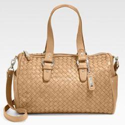 Cole Haan, Heritage Weave Jade Shoulder Bag, $395