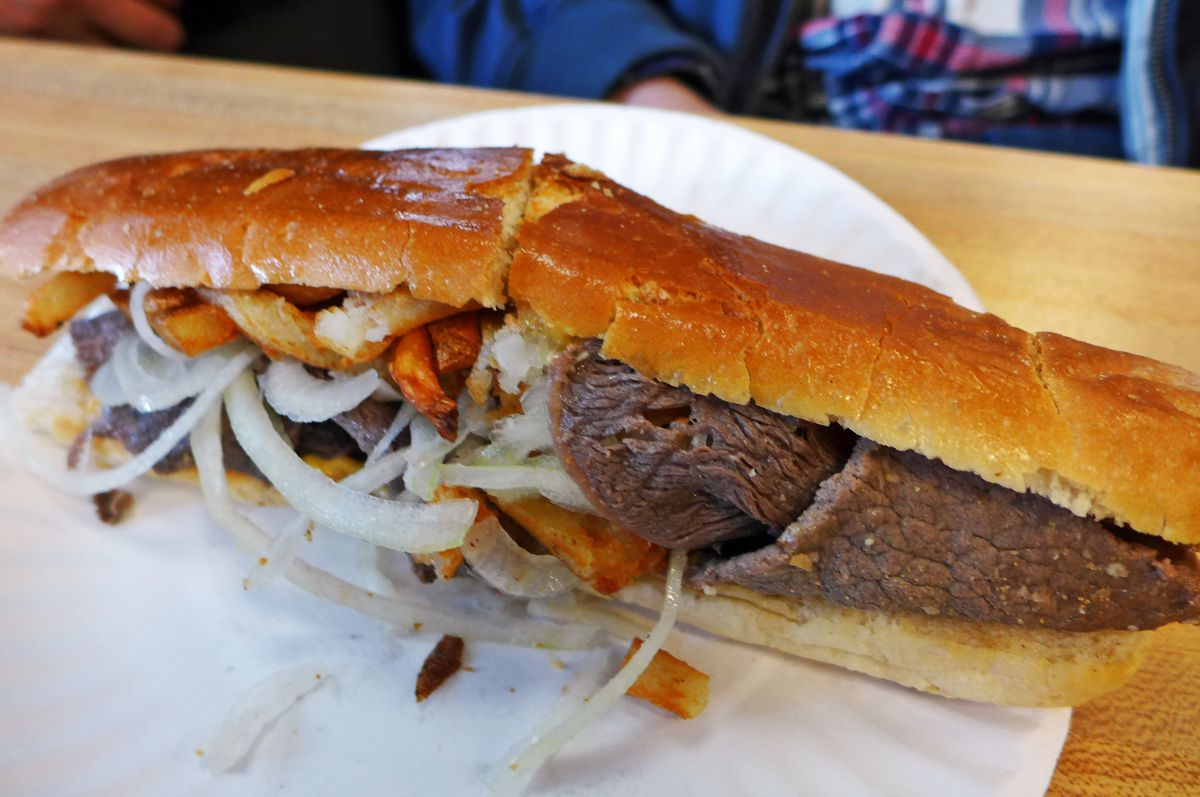 Pan con bistec is a Havana on the Hudson classic.