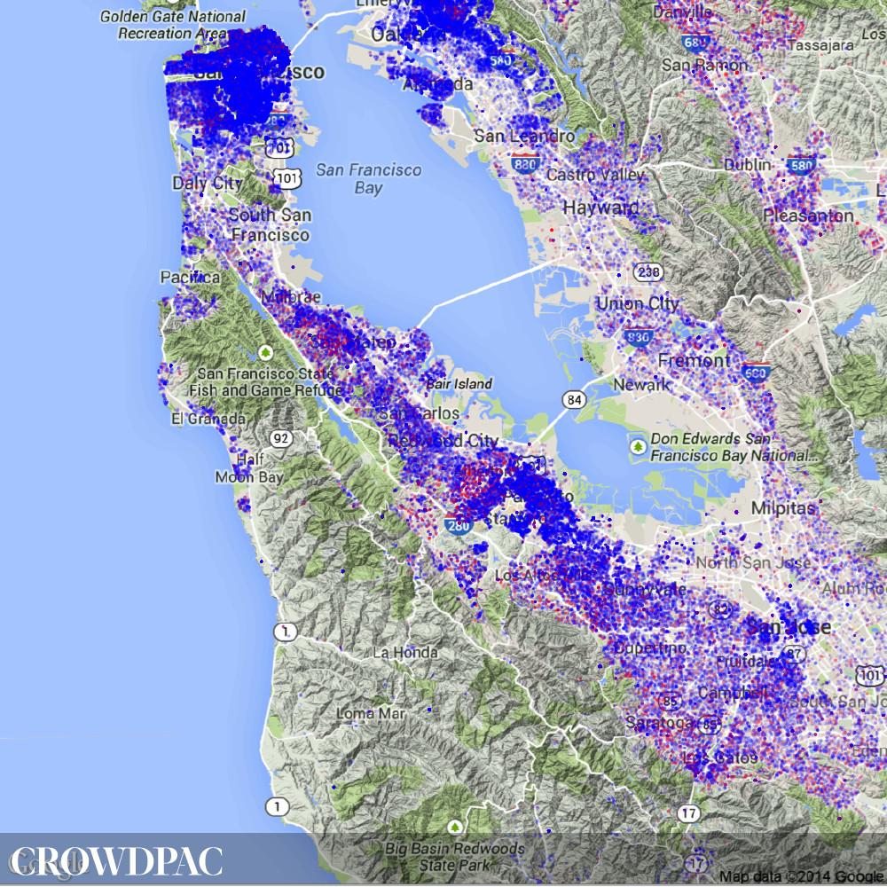 Crowdpac Bay Area