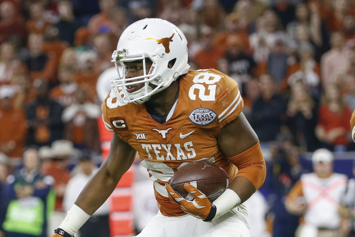 Texas RB Malcolm Brown experiences mixed results at NFL Scouting ...
