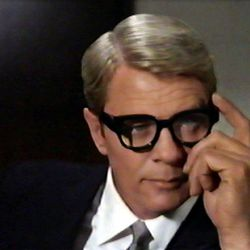 """Peter Graves in the TV series """"Mission: Impossible."""""""