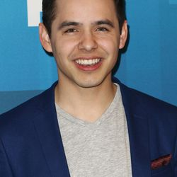 """David Archuleta arrives at the """"American Idol"""" farewell season finale at the Dolby Theatre on Thursday, April 7, 2016, in Los Angeles. (Photo by John Salangsang/Invision/AP)"""