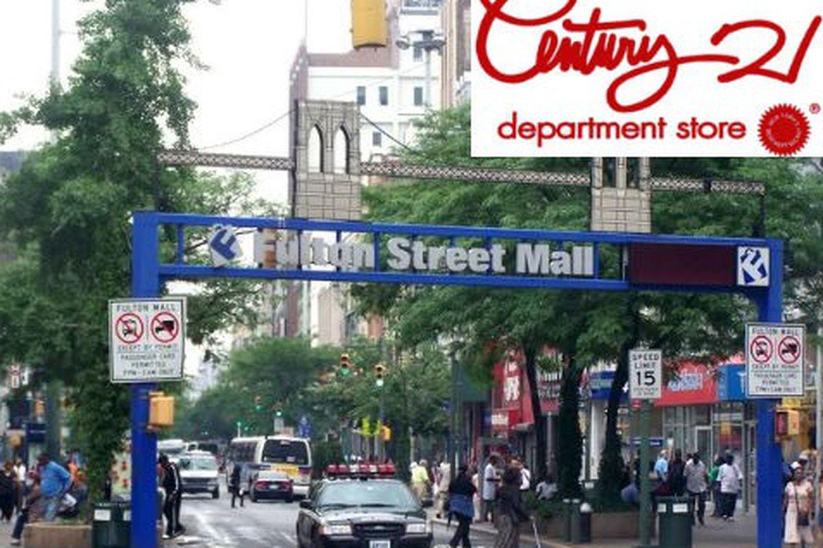 """Fulton Mall Image via <a href=""""http://forum.skyscraperpage.com/showthread.php?t=153703"""">Skyscraper Forum</a>"""