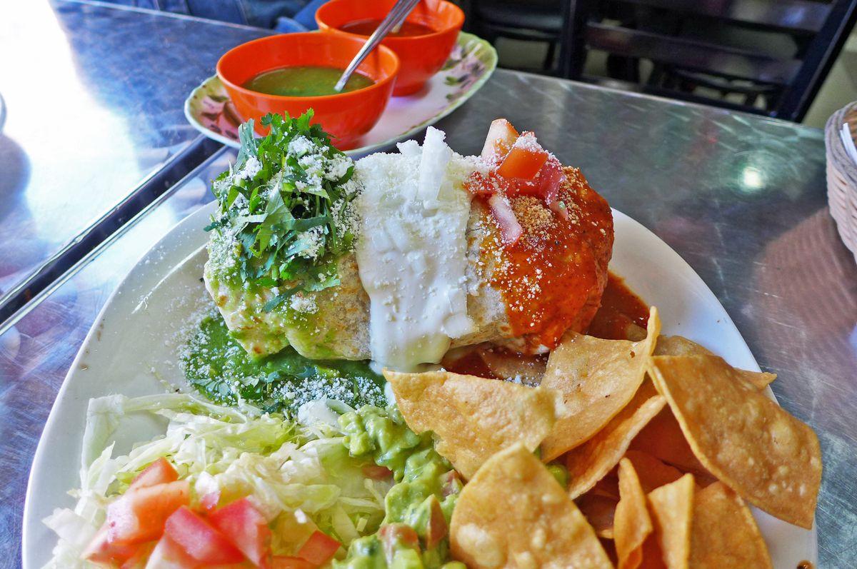 Burrito santanero