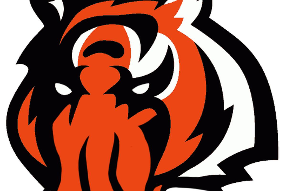 Halloween-themed Bengals logo - Cincy Jungle