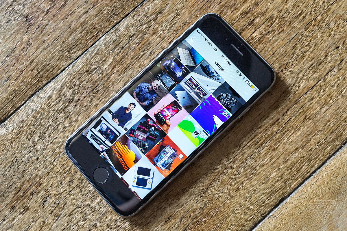 Instagram's code hints at a portrait camera mode - The Verge