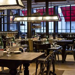 """<a href=""""http://www.cinquecentoboston.com/"""">Cinquecento</a> (500 Harrison Avenue) brings a swanky Italian vibe to the SoWa neighborhood, and with it, a stylish brunch. From typical breakfast fare with an Italian twist (lemon and ricotta crepes, proscuitto"""