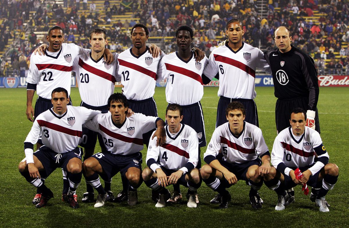 sale retailer e39fa 37020 Top 10 USMNT kits of all time - Stars and Stripes FC