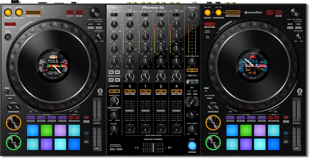 Pioneer's new DJ controller brings a club-style layout to a