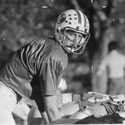 BYU Quarterbacks online photo gallery: All-American quarterback Marc Wilson is BYU's big weapon.