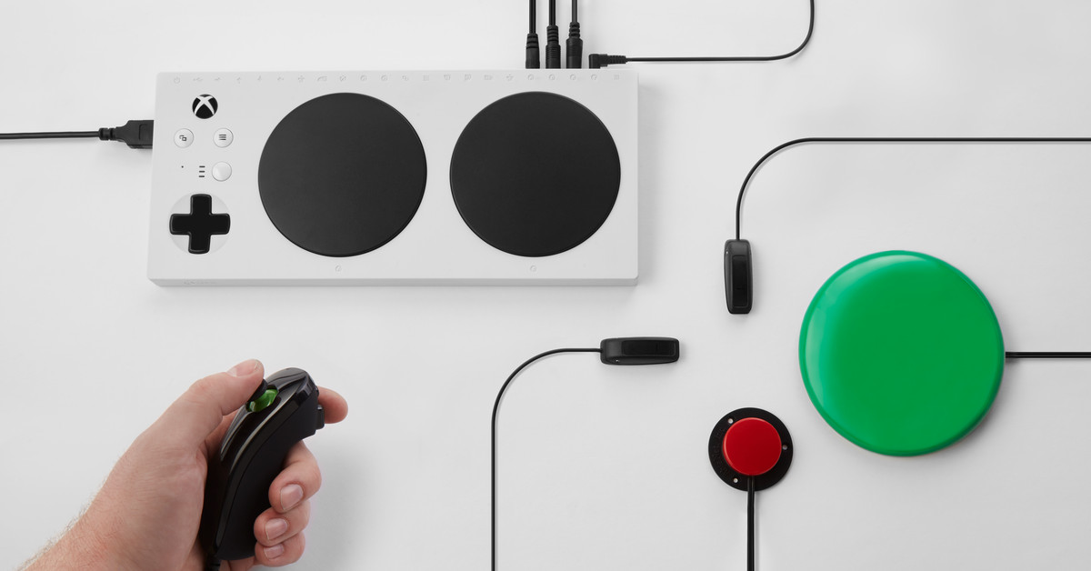 Microsoft announces Xbox Adaptive Controller for players with disabilities
