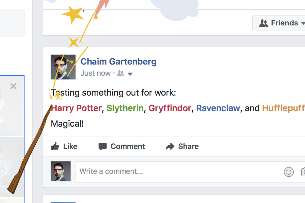 Facebook celebrates Harry Potter's 20th anniversary with a