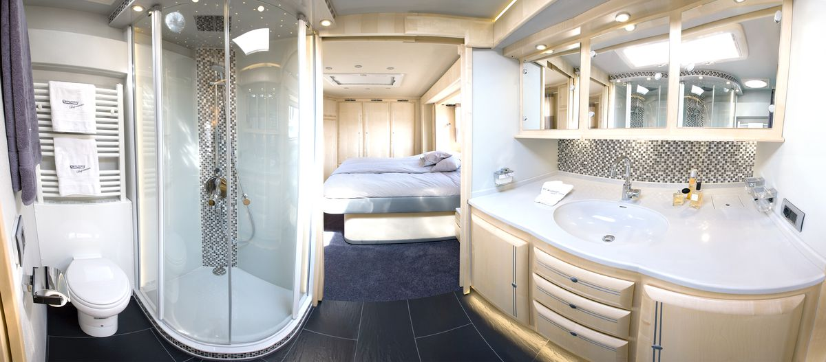 Bespoke Rv Hides Sports Car In Mobile Garage Curbed