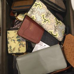 Small leather accessories, $150