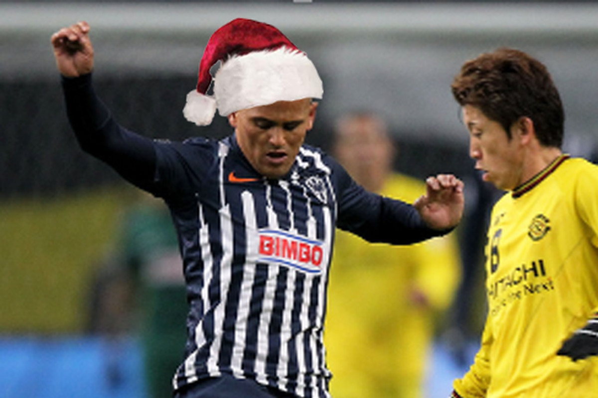 If you've been good, Suazo Claus will bring you a big stocking full of GOL