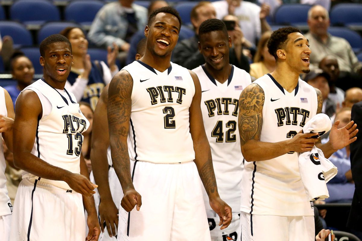 Pitt seems fired up as of late.