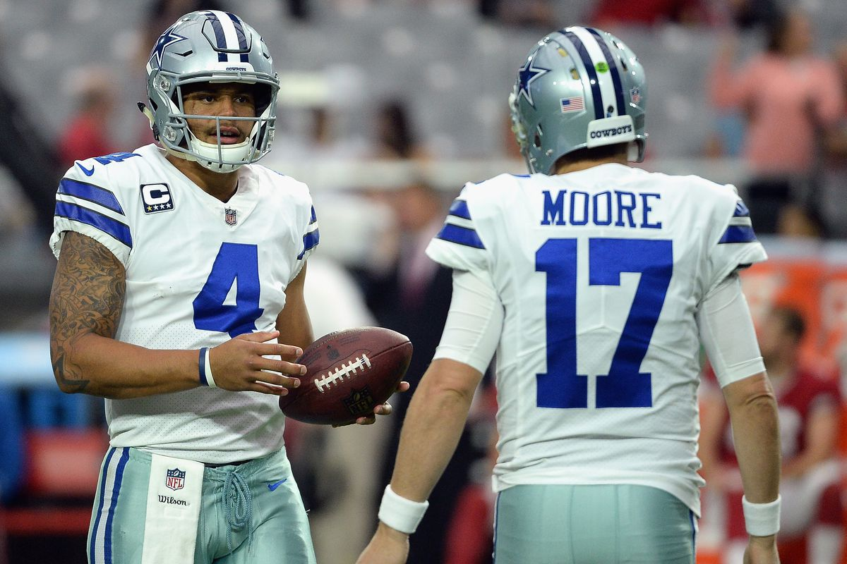 c079e8a3851 Dallas Cowboys coaching spotlight: Quarterbacks coach Kellen Moore ...