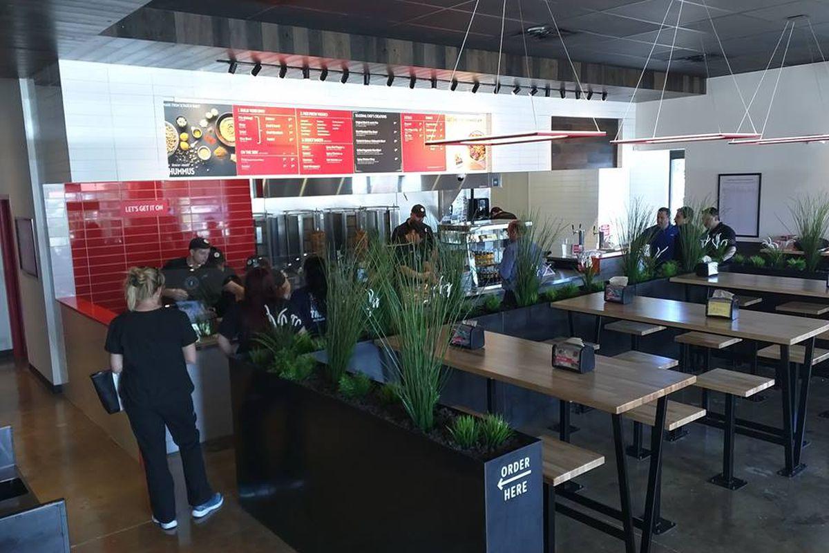 A VERTS restaurant in Denton, TX