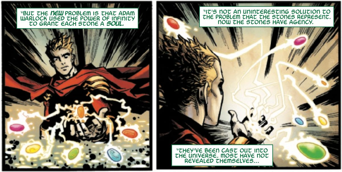 From Wolverine: Infinity Watch, Marvel Comics (2019).