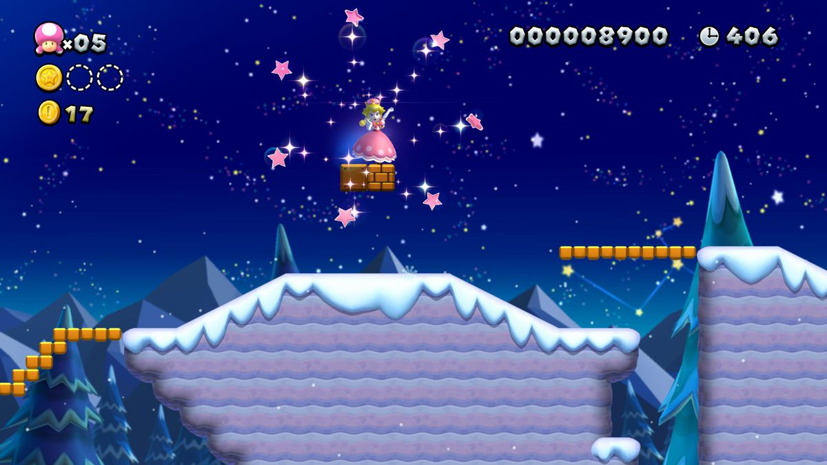 Peachette appears in New Super Mario Bros. U Deluxe