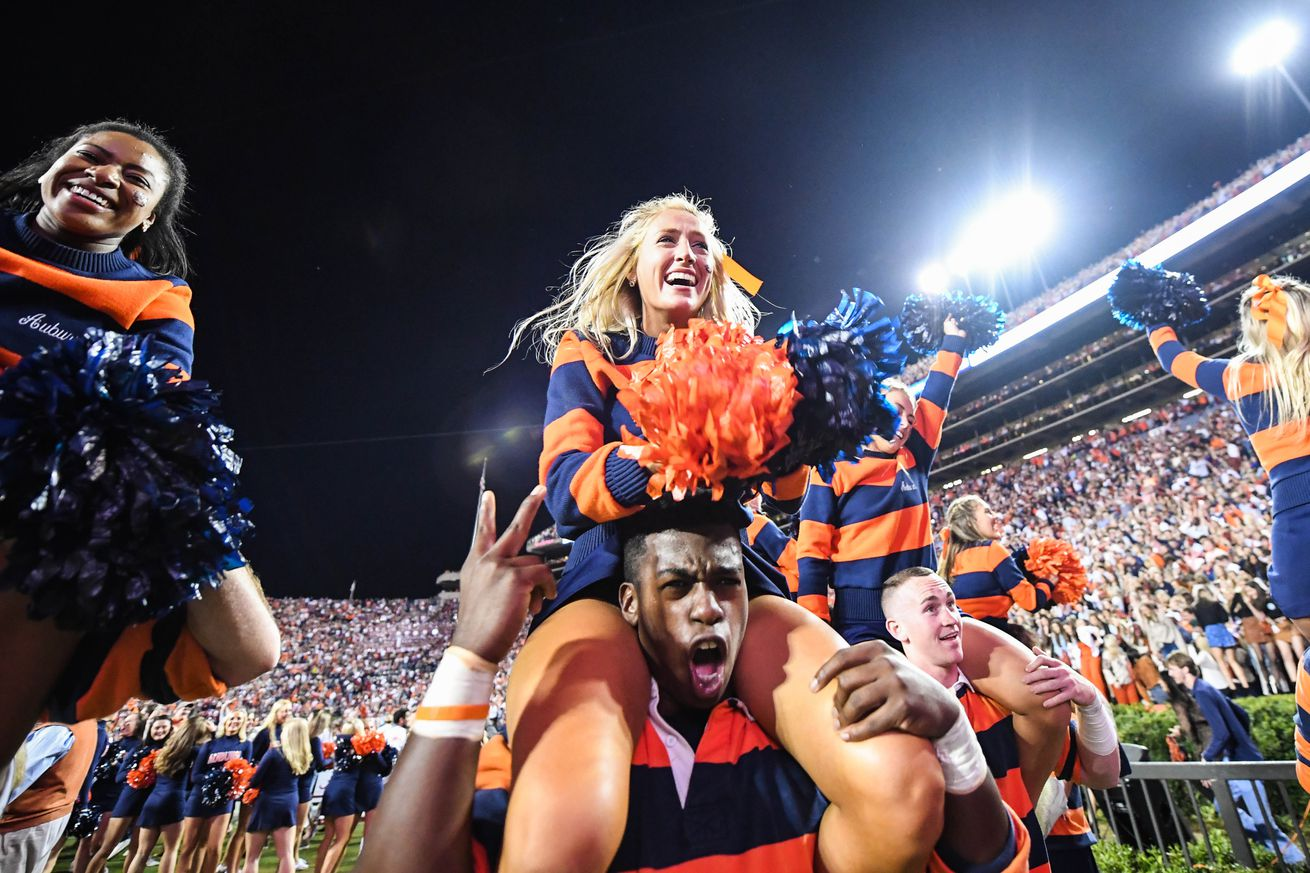 NCAA Football: Alabama at Auburn