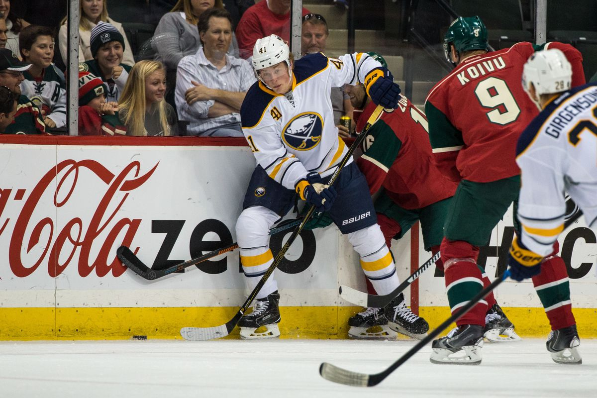 Pushovers no more, expect to see Jack Eichel and the new-look Sabres put up a better fight than last year.