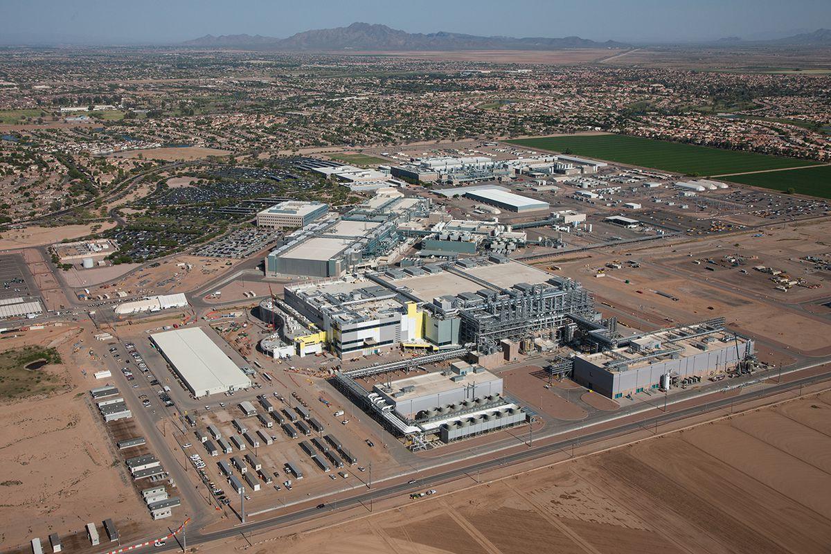 Intel Fab 42 factory in Arizona