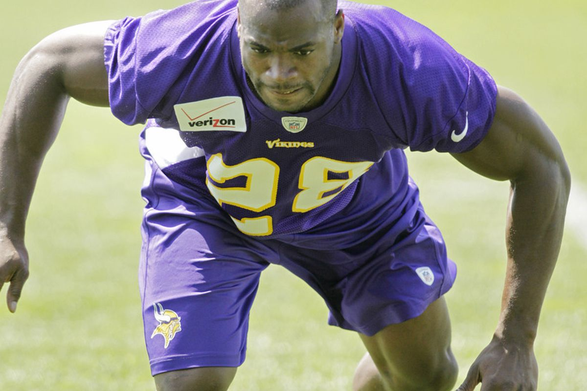 Adrian Peterson. He has a better body than you.