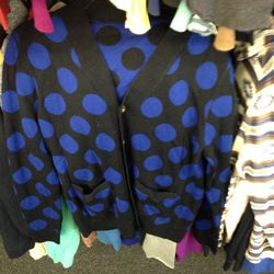 Men's cardigan, $30
