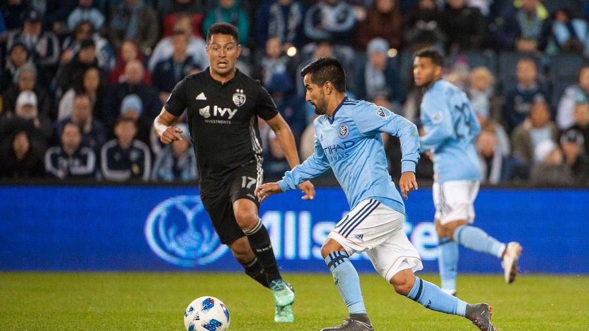 MLS: New York City FC at Sporting KC