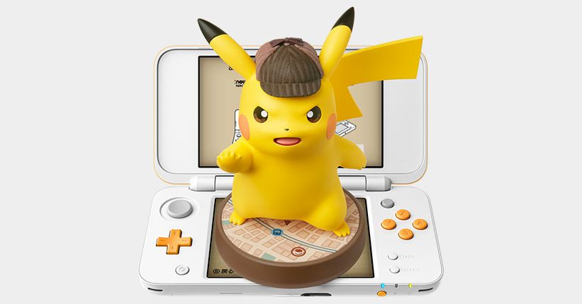 Detective Pikachu is heading West, and he's getting his own amiibo