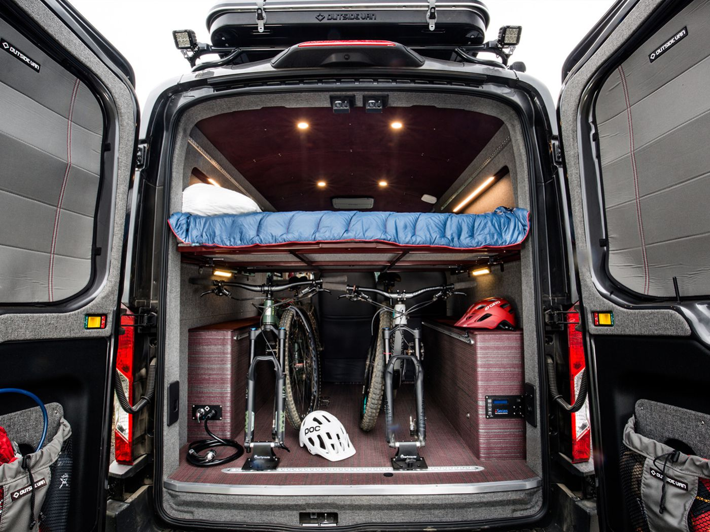 Ford Transit Camper Van Sleeps Four In Style Curbed