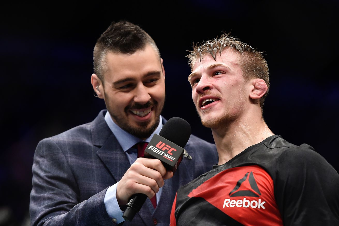 UFC featherweight sentenced for drunken Christmas brawl