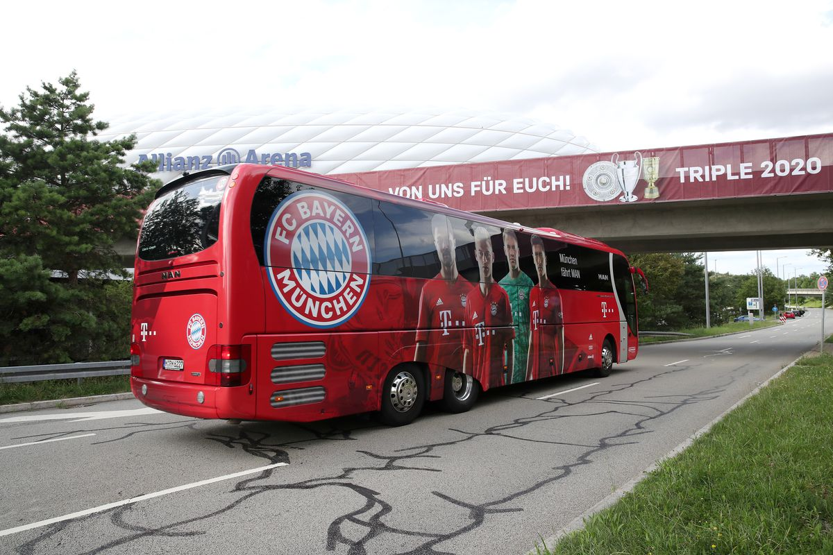 Bavarian Prime Minister Welcomes UEFA Champions League Winner FC Bayern Muenchen