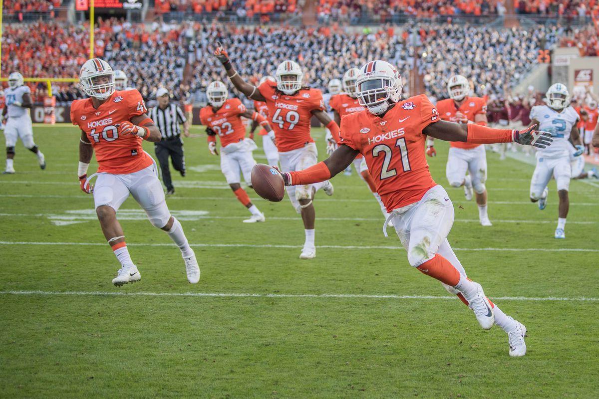 Virginia Tech Football 5 Takeaways In Hokies Thrashing Of Unc