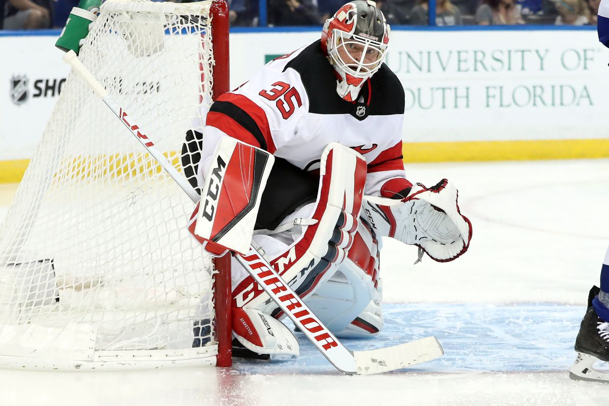 NHL: Stanley Cup Playoffs-New Jersey Devils at Tampa Bay Lightning